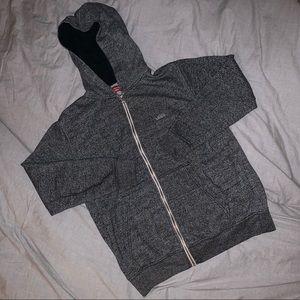 Vans hoodie gray